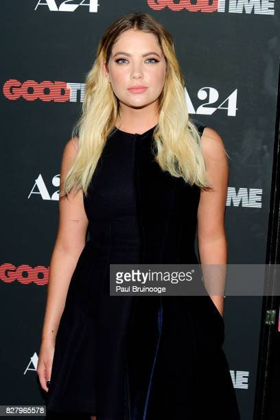 Ashley Benson attends 'Good Time' New York Premiere at SVA Theater on August 8 2017 in New York City