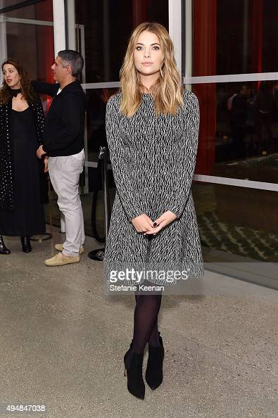 Ashley Benson attends LACMA and RH Restoration Hardware Celebrate West Coast Debut of Rain Room by Random International on October 28 2015 in Los...