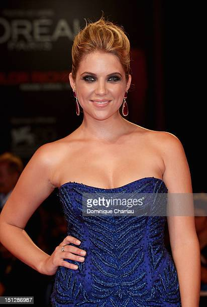 Ashley Benson attends 'Spring Breakers' Premiere during The 69th Venice Film Festival at the Palazzo del Cinema on September 5 2012 in Venice Italy