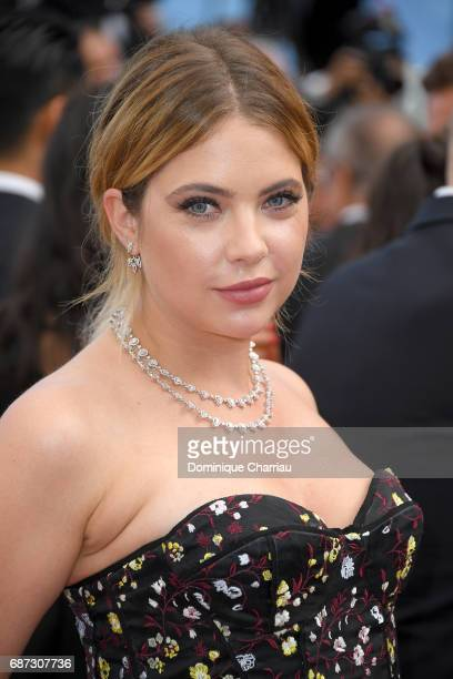 Ashley Benson attends the 70th Anniversary screening during the 70th annual Cannes Film Festival at Palais des Festivals on May 23 2017 in Cannes...
