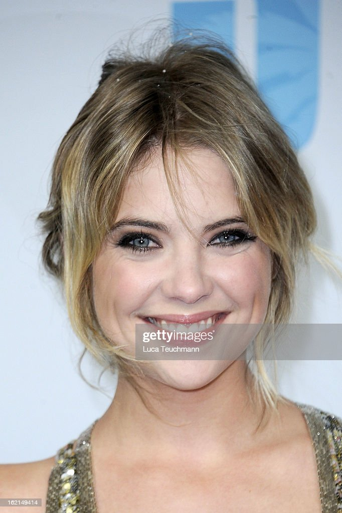 Ashley Benson attends the premiere of 'Spring Breakers' at Sony Center on February 19, 2013 in Berlin, Germany.