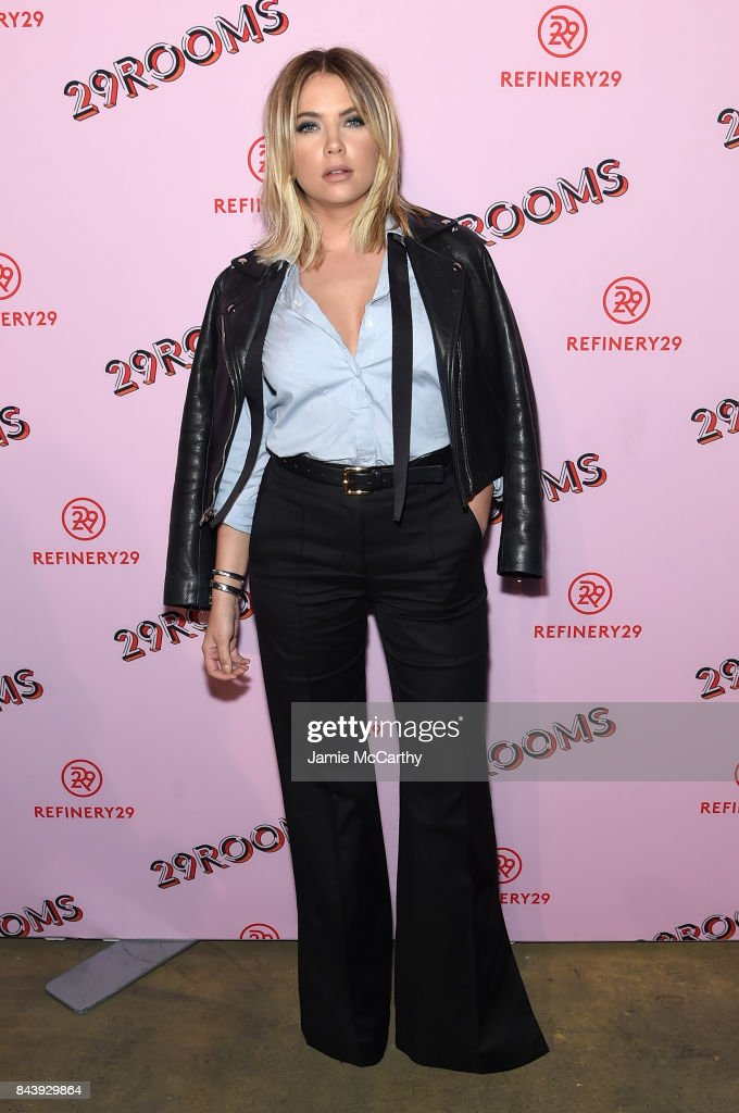 Ashley Benson attends the Refinery29 Third Annual 29Rooms: Turn It Into Art event on September 7, 2017 in the Brooklyn borough of New York City.