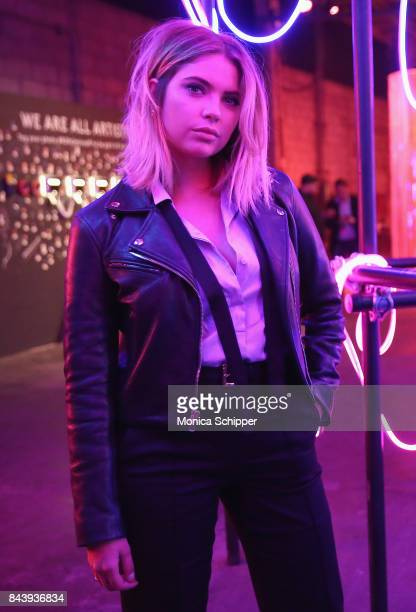 Ashley Benson attends the Refinery29 Third Annual 29Rooms Turn It Into Art event on September 7 2017 in the Brooklyn borough of New York City