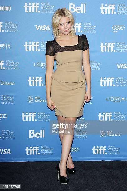 Ashley Benson attends the 'Spring Breakers' photo call during the 2012 Toronto International Film Festival held at TIFF Bell Lightbox on September 7...
