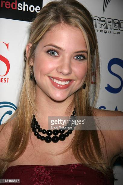 Ashley Benson during Life at Its Best Celebrates Two Years of Success December 7 2006 at Fred Segal's Mauro Cafe in Los Angeles California United...