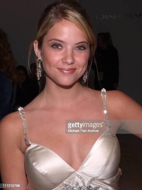 Ashley Benson front row at Dina BarEl Spring 2007