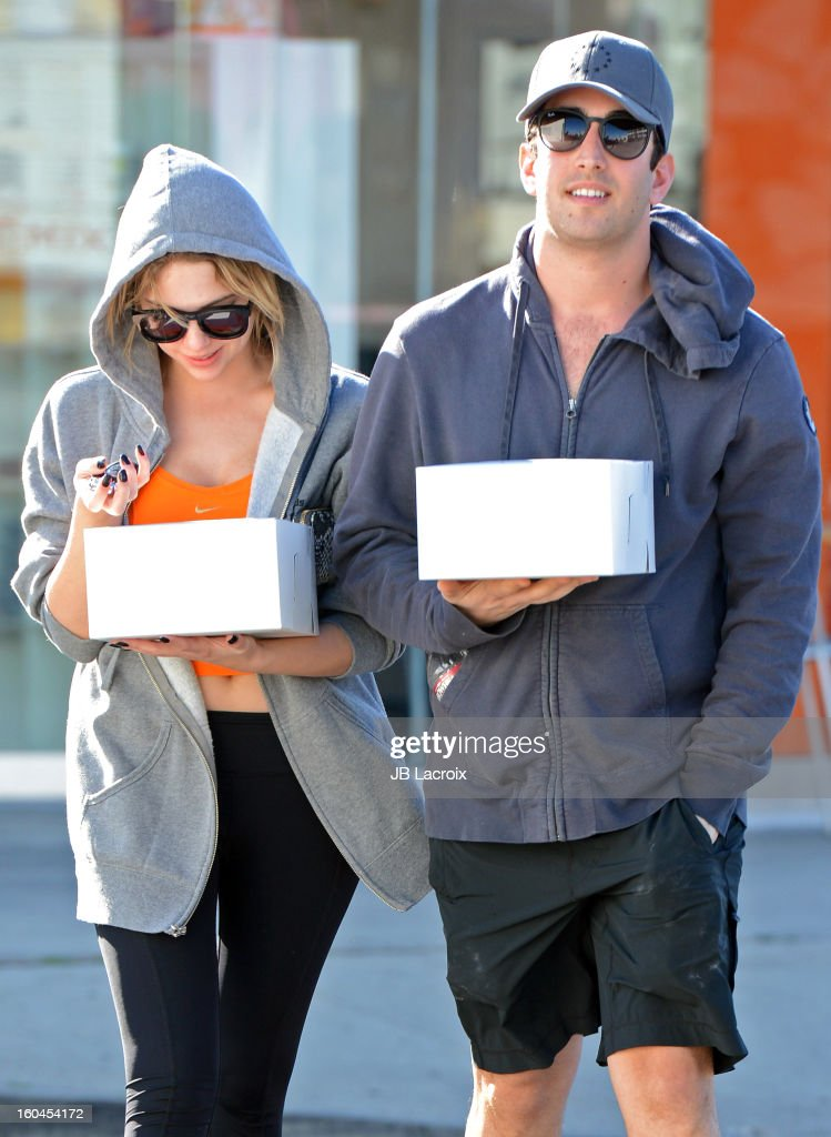 Ashley Benson is seen on January 31, 2013 in Los Angeles, California.