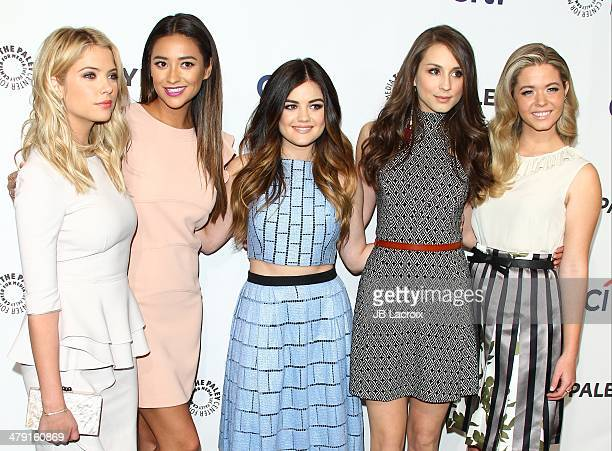 Ashley Benson Shay Mitchell Lucy Hale Troian Bellisario and Sasha Pieterse attend the 2014 PaleyFest 'Pretty Little Liars' held at Dolby Theatre on...