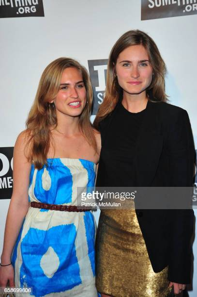 Ashley Bush and Lauren Bush attend DO SOMETHING Awards at Apollo Theater on June 4 2009 in New York City