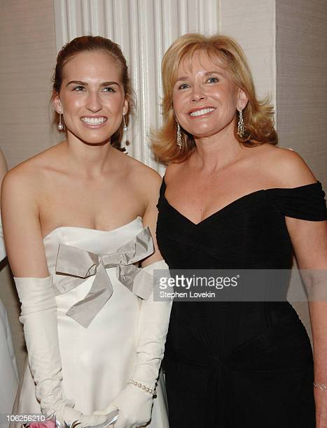 Ashley Bush and Sharon Bush during 52nd Annual International Debutante Ball Receiving Line at The Waldorf Astoria Hotel in New York City New York...