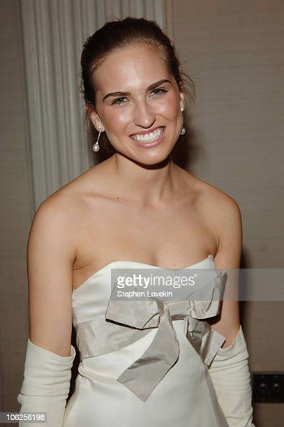 Ashley Bush during 52nd Annual International Debutante Ball Receiving Line at The Waldorf Astoria Hotel in New York City New York United States