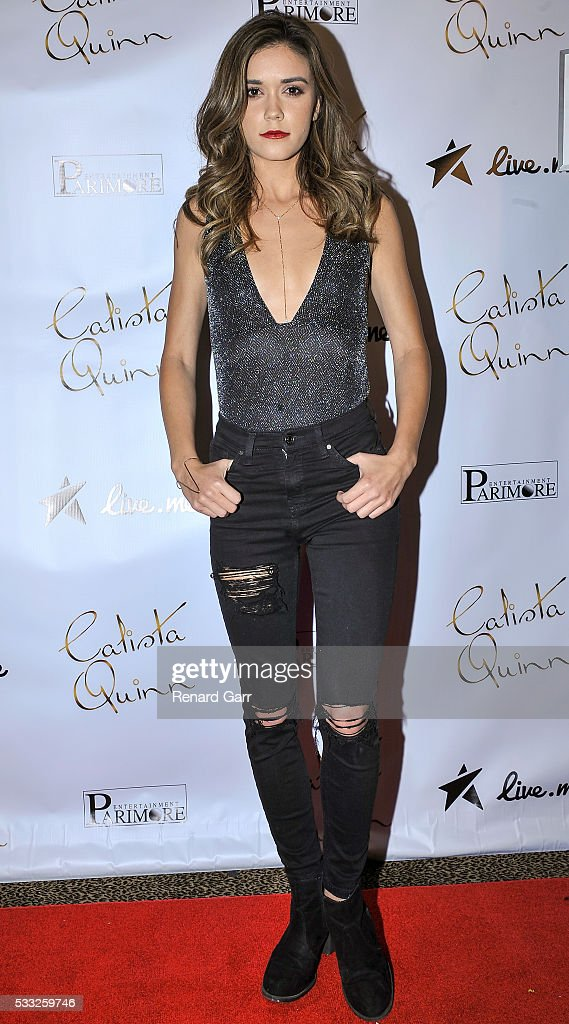 <a gi-track='captionPersonalityLinkClicked' href=/galleries/search?phrase=Ashley+Campbell&family=editorial&specificpeople=6934525 ng-click='$event.stopPropagation()'>Ashley Campbell</a> attends the Calista Quinn EP Release Party held at Busby's East on May 22, 2016 in Los Angeles, California.