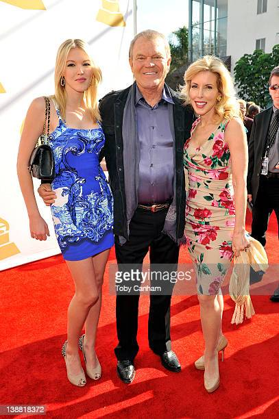 Ashley Campbell Glen Campbell and wife Kim Campbell arrive for the 54th Annual Grammy Special Merit Awards at The Wilshire Ebell Theatre on February...