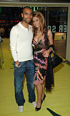 Ashley Cole and Cheryl Tweedy during 'Alien Autopsy' London Premiere Inside Arrivals at Leicester Square in London Great Britain