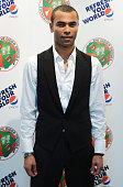 Ashley Cole attends the Didier Drogba Foundation Charity Ball in association with Pepsi on November 21 2009 in London England