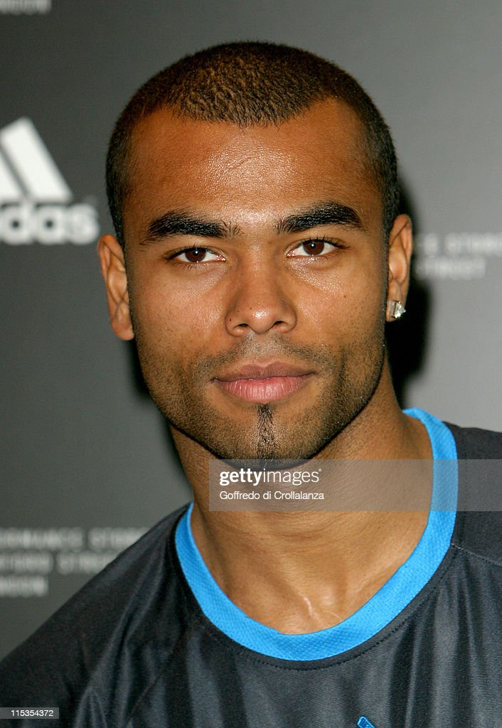Ashley Cole during Launch of First Adidas Sports Performance Store in London at Adidas Store in London, Great Britain.