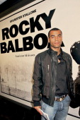 Ashley Cole during 'Rocky Balboa' London Premiere Inside Arrivals at Vue in London Great Britain