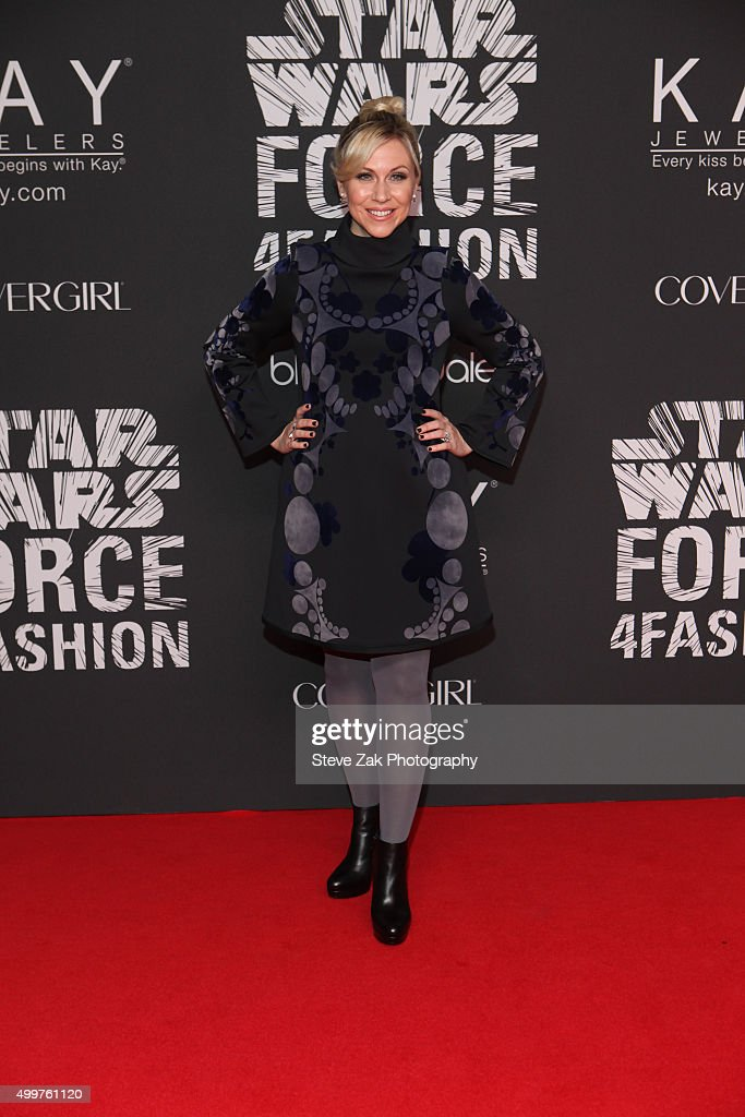 Ashley Eckstein attends Star Wars 'Force 4 Fashion' launch event at Skylight Modern on December 2, 2015 in New York City.