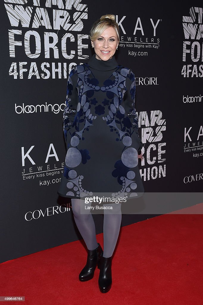 Ashley Eckstein attends the Star Wars 'Force 4 Fashion' Event on Dec 2 at the Skylight Modern in NYC Top designers showcased bespoke looks inspired...