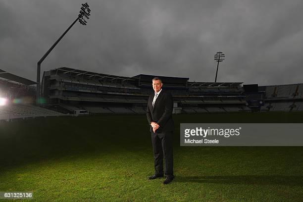Ashley Giles the Sport Director of Warwickshire County Cricket Club poses at Edgbaston on January 9 2017 in Birmingham England
