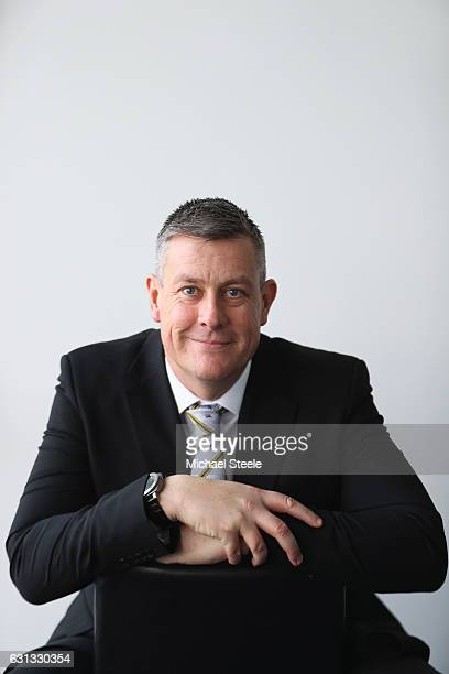 Ashley Giles the Sport Director of Warwickshire County Cricket Club poses for a portrait at Edgbaston on January 9 2017 in Birmingham England