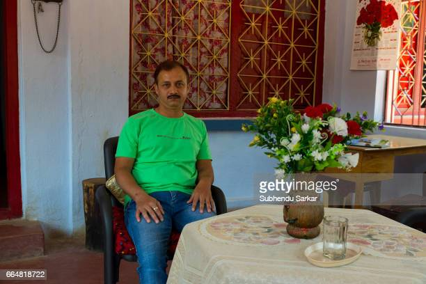 MCCLUSKIEGUNJ RANCHI JHARKHAND INDIA Ashley Gomes one of the AngloIndians living at McCluskiegunj runs a hostel at his house He is a bodylanguage...