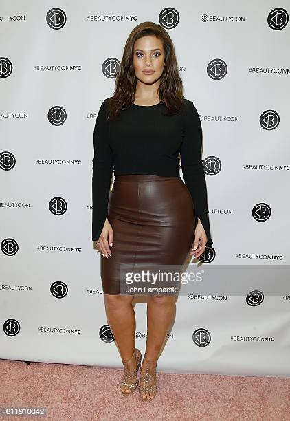 Ashley Graham attends 2016 Beautycon Festival NYC at Pier 36 on October 1 2016 in New York City