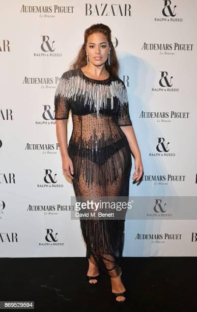 Ashley Graham attends Harper's Bazaar Women of the Year Awards in association with Ralph Russo Audemars Piguet and MercedesBenz at Claridge's Hotel...