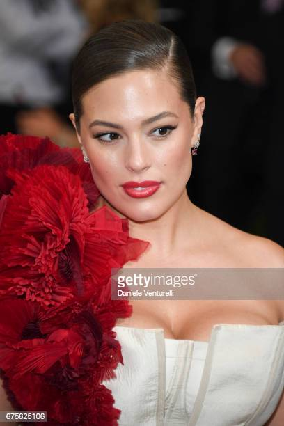 Ashley Graham attends 'Rei Kawakubo/Comme des Garcons Art Of The InBetween' Costume Institute Gala Arrivals at Metropolitan Museum of Art on May 1...