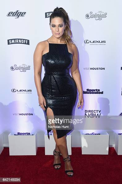 Ashley Graham attends Sports Illustrated Swimsuit 2017 NYC launch event at Center415 Event Space on February 16 2017 in New York City
