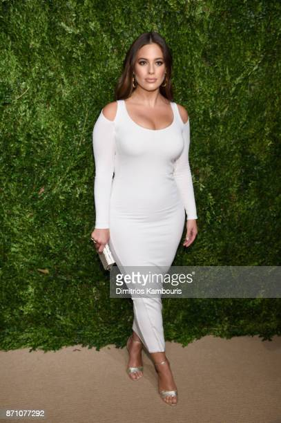 Ashley Graham attends the 14th Annual CFDA/Vogue Fashion Fund Awards at Weylin B Seymour's on November 6 2017 in the Brooklyn borough of New York...