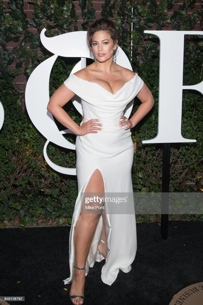 Ashley Graham attends the 2017 BoF 500 Gala at Public Hotel on September 9, 2017 in New York City.