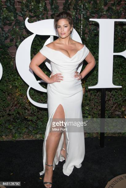 Ashley Graham attends the 2017 BoF 500 Gala at Public Hotel on September 9 2017 in New York City