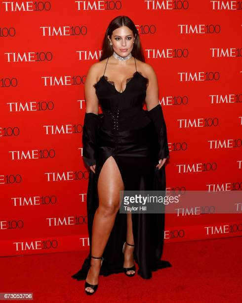 Ashley Graham attends the 2017 Time 100 Gala at Jazz at Lincoln Center on April 25 2017 in New York City