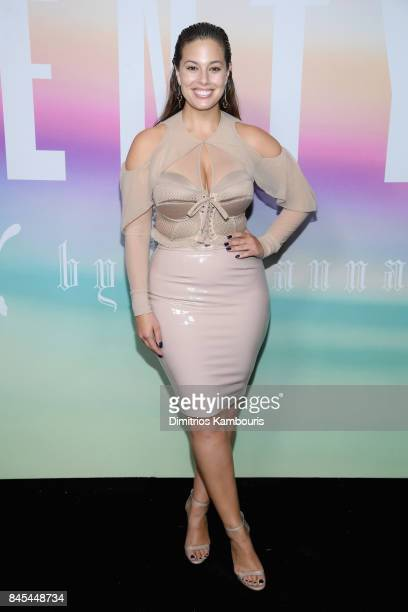 Ashley Graham attends the FENTY PUMA by Rihanna Spring/Summer 2018 Collection at Park Avenue Armory on September 10 2017 in New York City