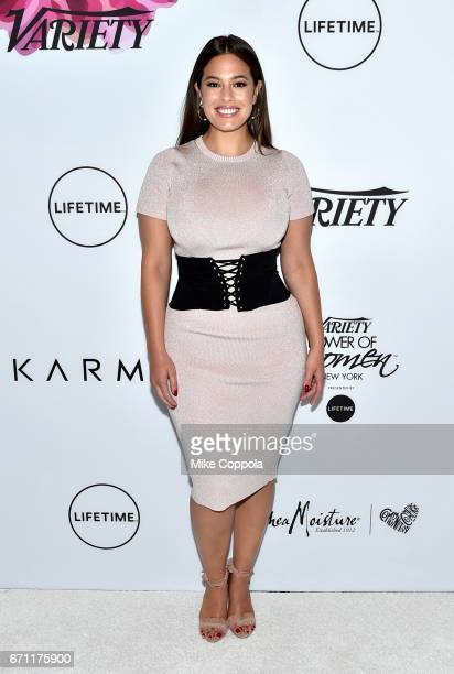 Ashley Graham attends Variety's Power Of Women New York at Cipriani Midtown on April 21 2017 in New York City