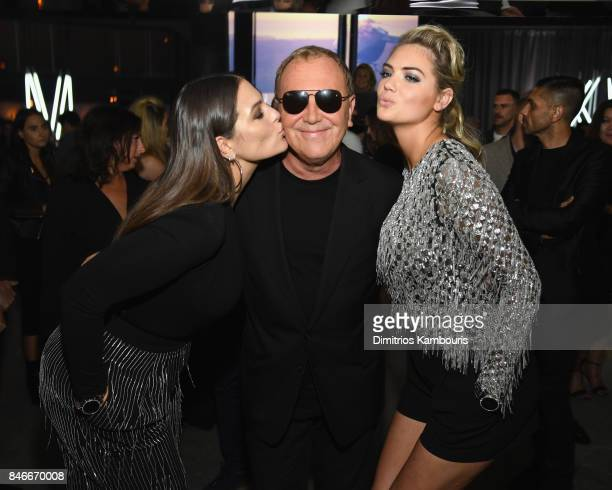 Ashley Graham Michael Kors and Kate Upton attend Michael Kors and Google Celebrate new MICHAEL KORS ACCESS Smartwatches at ArtBeam on September 13...