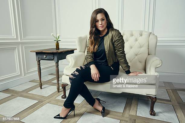 Ashley Graham poses for a portrait in the Getty Images SXSW Portrait Studio Powered By Samsung on March 13 2016 in Austin Texas