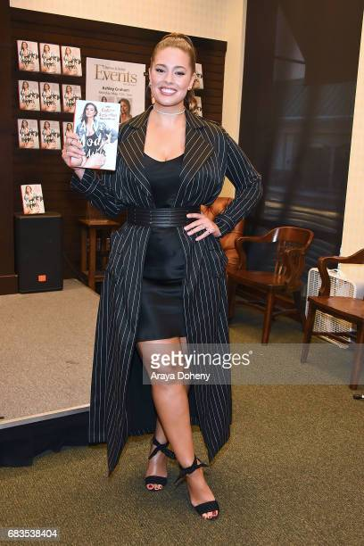 Ashley Graham signs copies of her new book 'A New Model' at Barnes Noble at The Grove on May 15 2017 in Los Angeles California