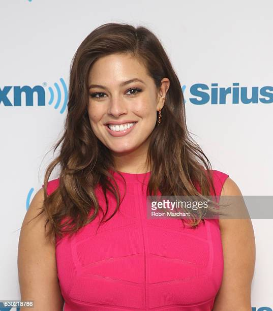 Ashley Graham visits on May 10 2016 in New York New York