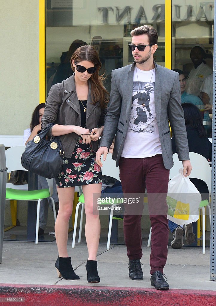Ashley Greene and Paul Khoury are seen on March 03, 2014 in Los Angeles, California.