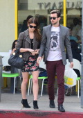 Ashley Greene and Paul Khoury are seen on March 03 2014 in Los Angeles California