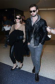Ashley Greene and Paul Khoury seen at LAX on November 30 2014 in Los Angeles California