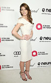 Ashley Greene arrives at the 22nd Annual Elton John AIDS Foundation's Oscar viewing party held on March 2 2014 in West Hollywood California