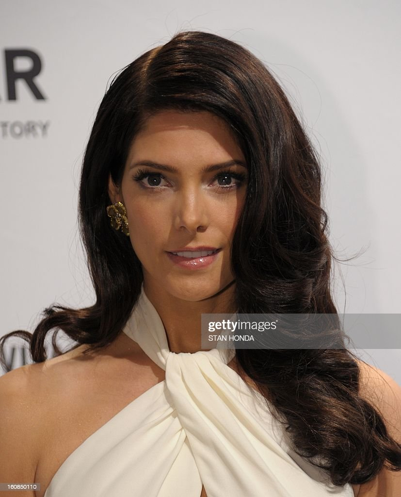 Ashley Greene arrives at the amfAR (The Foundation for AIDS Research) gala that kicks off the Mercedes-Benz Fashion Week February 6, 2013 in New York. AFP PHOTO/Stan HONDA