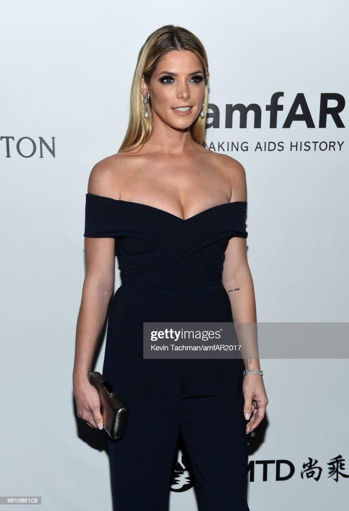 Ashley Greene at amfAR Los Angeles 2017 at Ron Burkle's Green Acres Estate on October 13, 2017 in Beverly Hills, Californi