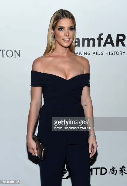 Ashley Greene at amfAR Los Angeles 2017 at Ron Burkle's Green Acres Estate on October 13 2017 in Beverly Hills Californi