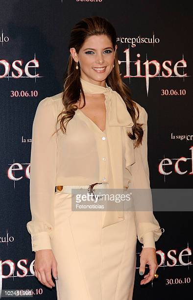 Ashley Greene attends a photocall for 'The Twilight Saga Eclipse' at the Castellana Intercontinental Hotel on June 28 2010 in Madrid Spain