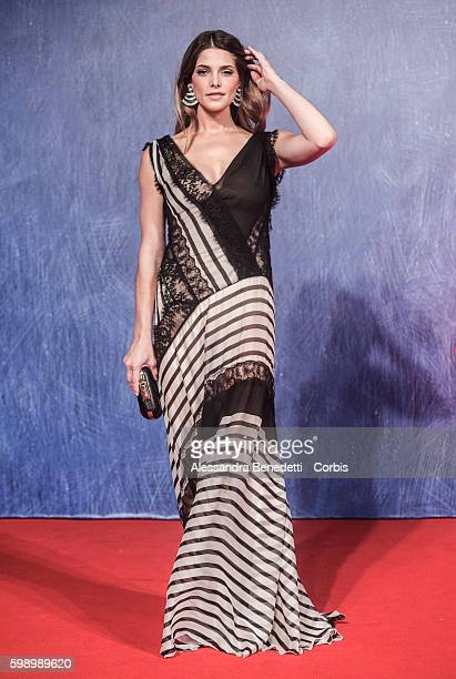 Ashley Greene attends a premiere for 'In Dubious Battle' during the 73rd Venice Film Festival on September 3 2016 in Venice Italy