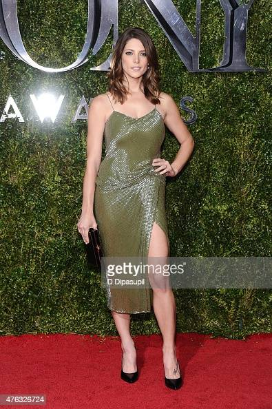 Ashley Greene attends American Theatre Wing's 69th Annual Tony Awards at Radio City Music Hall on June 7 2015 in New York City